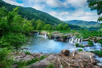 Sandstone Falls New River Gorge WV
