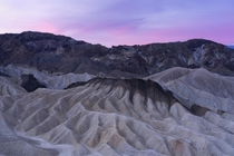 Sandstone Waves Death Valley