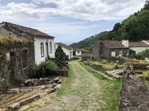 Sanguinho known as The Lost Village An abandoned village in the town of Faial da Terra located on So Miguel Island in The Azores currently in the process of being restored