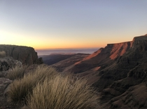 Sani Pass at Sunrise Lesotho -C    x