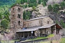 Sant Joan de Caselles Church  located in Canillo this classic example of Andorran Romanesque churches dates back to a time between the th and the th century of Medieval Europe