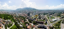 Sarajevo from the Avaz tower