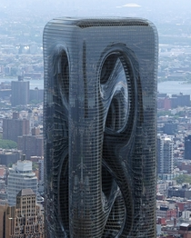 Sarcostyle Tower proposal by Hayri Atak New York City