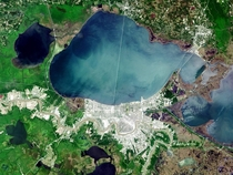 Satellite image of Metairie Louisiana