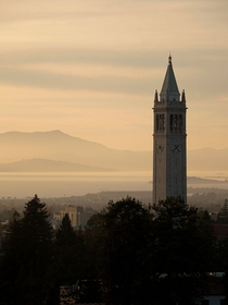 Sather Tower at the University of California Berkeley