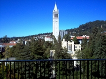 Sather Tower Berkeley California Designed by John Galen Howard