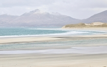 Satisfying colours of Seilebost Beach - Outer Hebrides Scotland