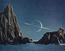 Saturn by Chesley Bonestell