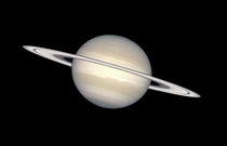 Saturn in Natural Colors