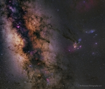 Saturn in the Milky Way