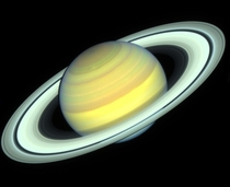 Saturn photographed by Hubble in