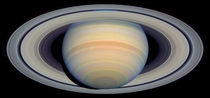 Saturn s Rings in Visible Light image from NASA Hubble x