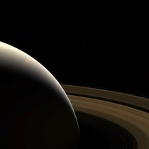 Saturn seen by Cassini