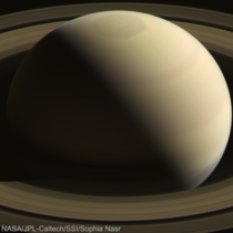 Saturn taken by Cassini June   Processed by me Res  slightly cropped for alignment purposes