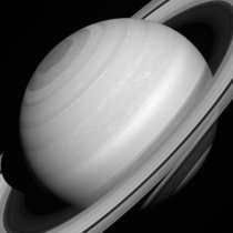 Saturn Translucent Rings