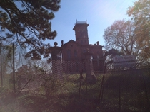 Sauer Castle in Kansas City KS is the scariest house Ive ever seen in person  x