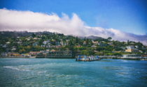 Sausalito CA from the bay