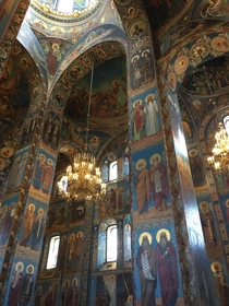 Savior on the Spilled Blood church in Saint Petersburg Russia