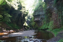Saw a photo of the Devils Pulpit Killearn Scotland here and figured Id post one I took last year  x