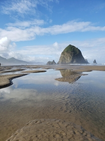 Saw the nicest boulder Haystack Rock Cannon Beach OR