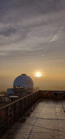 Saw you guys liked the former spy station on Teufelsberg Here is another picture taken by me last year