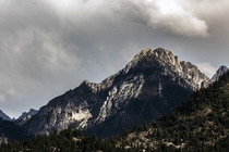 Sawtooth Mountains in Grandjean Idaho
