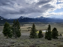 Sawtooth Range in Idaho