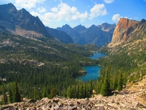 Sawtooth Wilderness Idaho -