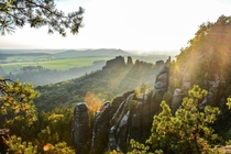 Saxon Switzerland National Park Germany