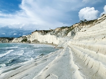 Scala dei Turchi Turkish Steps Sicily Italy Nov