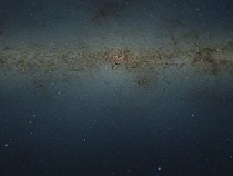 Scaled-Down  GigaPixel photo of Milky Ways Center