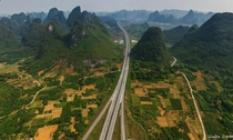 Scenic Expressway Route Guilin