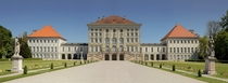 Schloss Nymphenburg Bavaria by Agostino Barelli completed