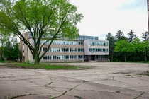 School Building of Abandoned Campus