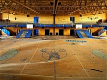 School Gymnasium in Detroit