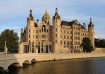 Schwerin Palace - former Residence of the Dukes of Mecklenburg Germany