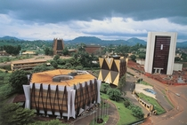 Sci-fi architecture in Yaound Cameroon