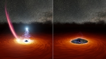 Scientists see black holes corona disappear then reappear for the first time Credits NASAJPL Caltech