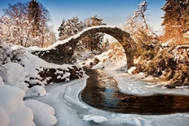 Scotland looks nice in the winter too