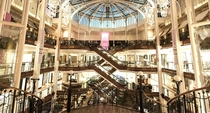 Scotlands Best Building in a Century - Princes Square Interior - Glasgow