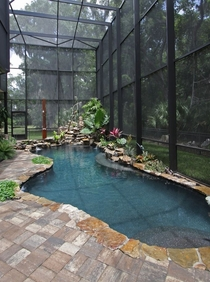 Screened in pool Jacksonville Florida