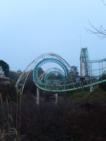 Screw Coaster Nara Dreamland rip Nara Japan