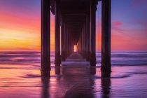 Scripps Pier San Diego CA  of my Top  best sunsets ever witnessed
