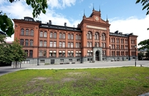 Sdra Latin an upper secondary school in Stockholm established   Designed by Per Emanuel Werming