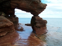 Sea Arch on Sand Island Apostle Islands National Lakeshore Wisconsin