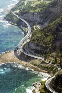 Sea Cliff Bridge Australia  x-post from rpics