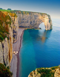 Sea Cliffs in Etretat France