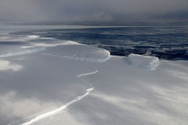 Sea Ice of Sulzberger Bay Ross Sea Antarctica