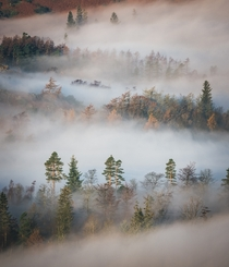 Sea of Mist the Lake District England