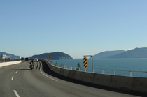 Sea to Sky Hwy British Columbia Canada By Maria Nemcsics